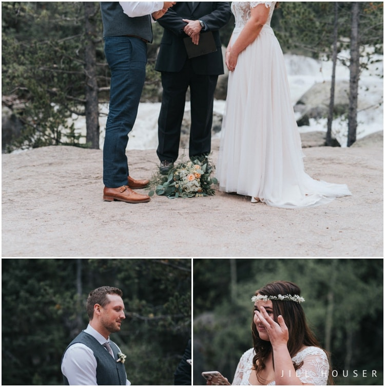 rocky mountain national park wedding photography