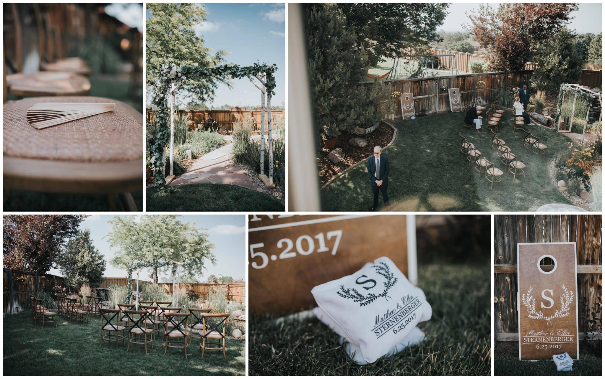 denver backyard wedding, bakyard wedding, backyard wedding photographer, denver wedding photographer, colorado wedding photographer, denver elopement, denver elopement photographer